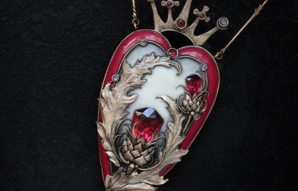 """Thistle heart"""